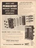 Penberthy Injector Company 1955 Vintage Ad Reflex Gage Liquid-Level