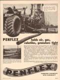 Pennsylvania Flexible Metallic Tubing 1955 Vintage Ad Air Gas Tight