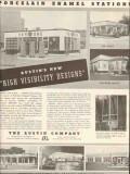 austin company 1937 porcelain enamel stations visibility vintage ad