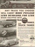butler mfg company 1937 trailow-tanks truck tanks payload vintage ad