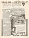 Continental Oil Company 1937 Vintage Ad Conoco More Mileage Merchant