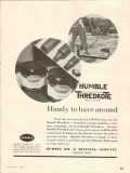 Humble Oil Refining Company 1937 Vintage Ad Thredkote Handy Around