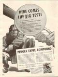 Penola Inc 1937 Vintage Ad Hypoid Gears Expee Compound Big Test