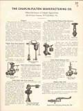 Chaplin-Fulton Mfg Company 1936 Vintage Catalog Feed Water Regulator