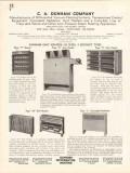C A Dunham Company 1936 Vintage Catalog Heater Unit Concealed Radiator