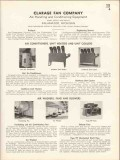 Clarage Fan Company 1936 Vintage Catalog Heater Air Conditioner Cooler