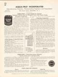 Acqua-Pruf Inc 1936 Vintage Catalog Waterproofing Integral Concrete