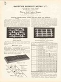 American Abrasive Metals Company 1936 Vintage Catalog Reliance Steel