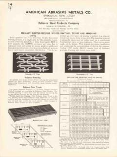 American Abrasive Metals Company 1936 Vintage Catalog Reliance Steel