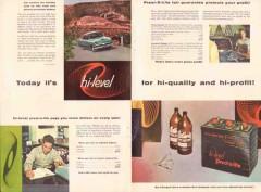 prestolite electric inc 1956 prest-o-lite hi-level battery vintage ad