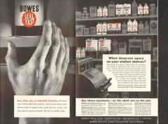 bowes seal fast corp 1957 deserves space service station vintage ad