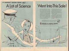 Universal Oil Products Company 1957 Vintage Ad Motor Fuel Science Sale