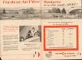 purolator products inc 1957 air filter road business profit vintage ad