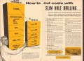 Cardwell Mfg Company 1955 Vintage Ad Oil Slim Hole Drilling Cut Costs