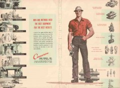 Cameron Iron Works 1955 Vintage Ad Oil Men Methods Equipment Results