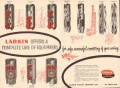 Larkin Packer Company 1955 Vintage Ad Oil Field Cementing Casing Safe