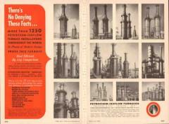 Petro-Chem Development Company 1955 Vintage Ad Oil Deny Facts Furnace