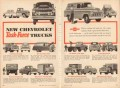 chevrolet 1955 styling capacity chevy task-force trucks vintage ad