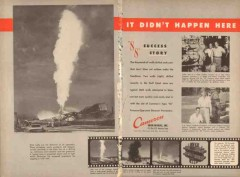 Cameron Iron Works 1955 Vintage Ad Oil Foster Penrod Drilling Company