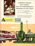 Continental Supply Company 1955 Vintage Ad Oil Gardner-Denver Mud Pump