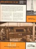 Brewster Company 1955 Vintage Ad Oil Petroleum Drilling Engine N-12