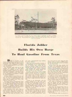 independent oil company 1937 charles king dothan al vintage article