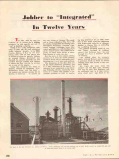 bay petroleum company 1937 robineau newman denver co vintage article
