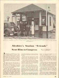 arthur w aleshire station 1937 springfield oh congress vintage article