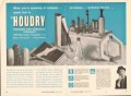 Houdry Process Chemical Company 1962 Vintage Ad Catalysis Technical