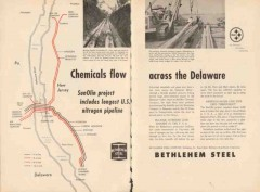 bethlehem steel company 1962 sheehan pipeline chemicals vintage ad