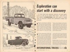international harvester company 1962 c-130 scout truck vintage catalog