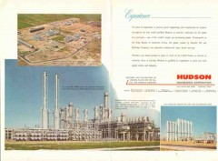 Hudson Engineering Corp 1962 Vintage Ad Construction Plant Experience