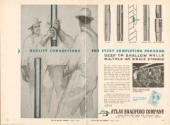 Atlas Bradford Company 1962 Vintage Ad Oil Quality Connections Tubing