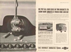 chevrolet 1957 eggs basket smooth chevy jobmaster truck vintage ad