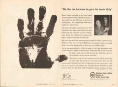 Big Chief Drilling Company 1962 Vintage Ad Woody Fowler Joe Blackman