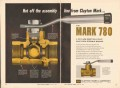 Clayton Mark Company 1962 Vintage Ad Oil Ball Valve Assembly Line