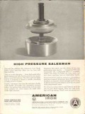 American Iron Machine Works 1962 Vintage Ad Oil High Pressure Sale