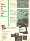 Chain Belt Company 1962 Vintage Ad Oil Field Rex Tested Proved Life