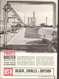 Black Sivalls Bryson Inc 1962 Vintage Ad Austral Oil Co Lake Arthur LA