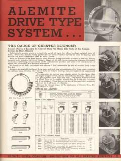 Alemite Corp 1936 Vintage Catalog Industrial Friction Lubrication Guns