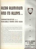 Aluminum Company Of America 1936 Vintage Catalog Alcoa Alloy Form Size