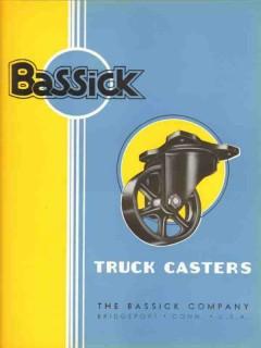 Bassick Company 1936 Vintage Catalog Truck Casters Wheels Heavy Duty