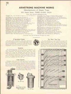 Armstrong Machine Works 1936 Vintage Catalog Blast Steam Traps