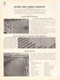 Irving Iron Works Company 1936 Vintage Catalog Flooring Deck Grating
