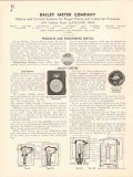 Bailey Meter Company 1936 Vintage Catalog Fluid Boiler Pyrometer