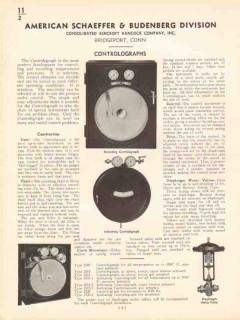 American Schaeffer Budenburg 1936 Vintage Catalog Controlograph