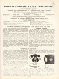 Automatic Electric Company 1936 Vintage Catalog Telephone Stowger PAX