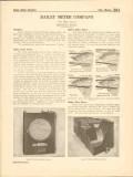 Bailey Meter Company 1916 Vintage Catalog Fluid Boiler Weir Recording