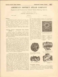 American District Steam Company 1916 Vintage Catalog Heat Underground