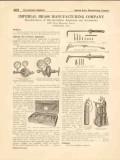 Imperial Brass Mfg Company 1916 Vintage Catalog Oxy-Acetylene Welding